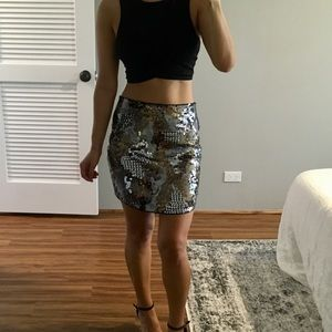 Express Skirts - Express Sequin Skirt